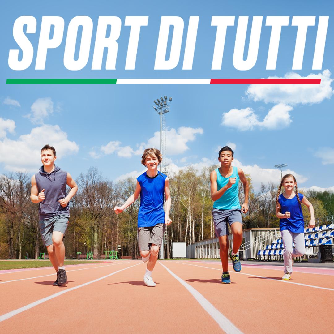 """Progetto """"SPORT DI TUTTI – edizione young"""" - PROROGA TERMINE PRESENTAZIONE DOMANDE"""