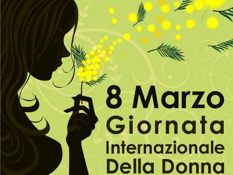 8 MARZO 2019 - GIORNATA INTERNAZIONALE DELLA DONNA -