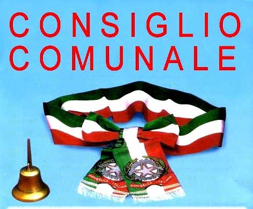 AVVISO DI CONVOCAZIONE DEL CONSIGLIO COMUNALE SEDUTA DEL 30 LUGLIO 2019