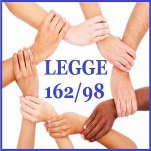 L.162/98-COMUNICAZIONI FINANZIAMENTO PERIODO MAGGIO-DICEMBRE 2021