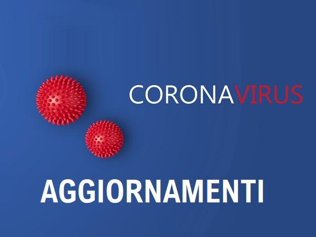 EMERGENZA CORONAVIRUS - AGGIORNAMENTO CASI