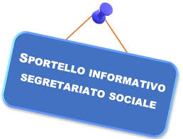 SEGRETARIATO SOCIALE ORARI SPORTELLO TELEFONICO