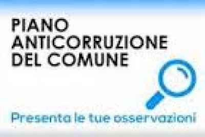 AVVISO DI PARTECIPAZIONE AGGIORNAMENTO PIANO TRIENNALE ANTICORRUZIONE 2019/2021