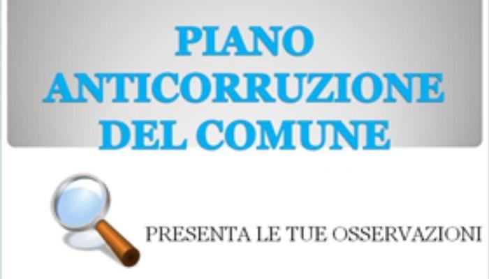 AVVISO PUBBLICO -  Piano Triennale per la Prevenzione della Corruzione e della Trasparenza 2020-2022