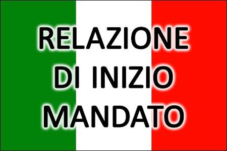 RELAZIONE DI INIZIO MANDATO DEL SINDACO ANNI 2020/2025